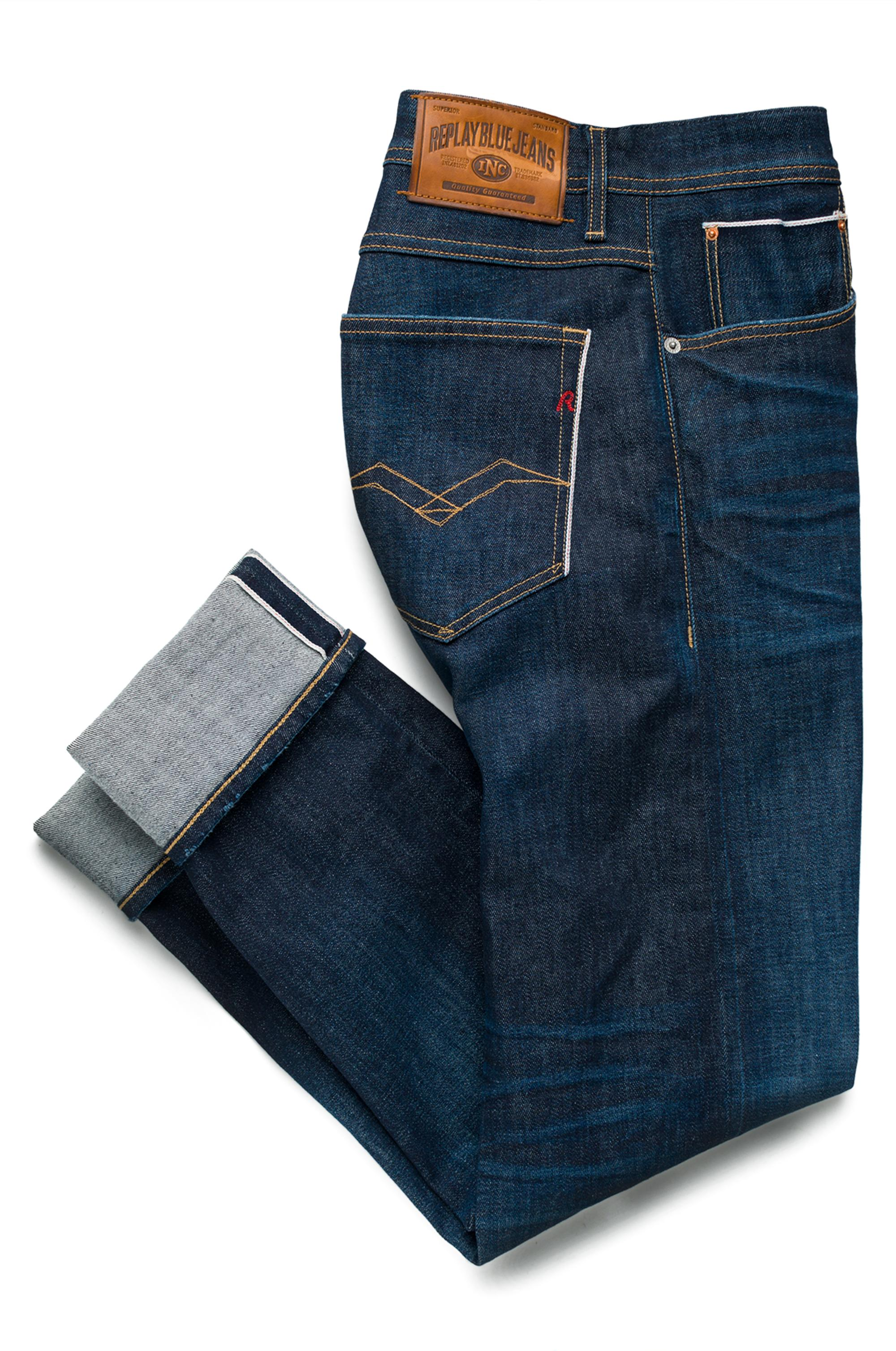 67b001d7 Replay Jeans RONAS slim selvedge jeans at £85 | love the brands