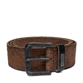 Men's washed sioux leather belt am2423.000.a3002c