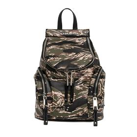 Camouflage faux leather backpack fw3665.001.a0015e