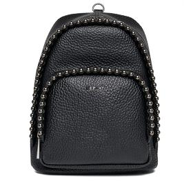Studded faux leather backpack fw3666.001.a0337