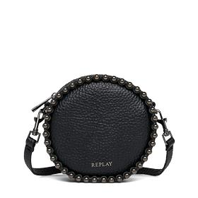 Studded faux leather bag fw3688.000.a0337