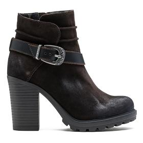 Women's NAUME leather boots gwh22 .000.c0020l
