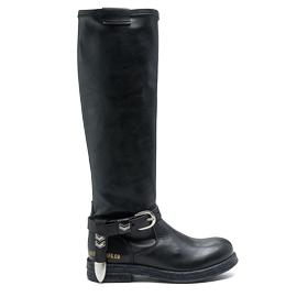 Women's TREAD high boot with buckles gwl26 .000.c0040s