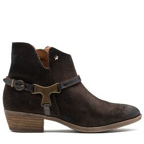 Women's WISE suede ankle boots gwl40 .000.c0007l