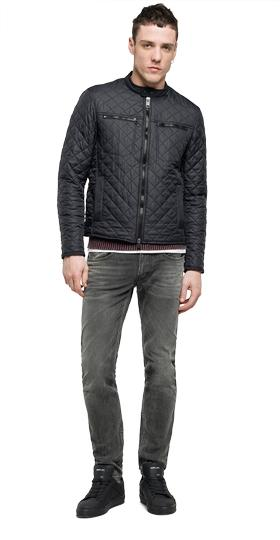 Solid quilted jacket m8853 .000.82486