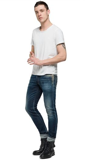 Anbass slim-fit jeans mb914 .000.61c 159