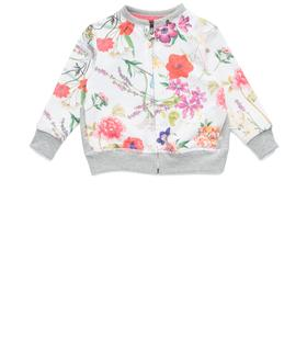Girls' floral sweatshirt pg2380.050.29868h