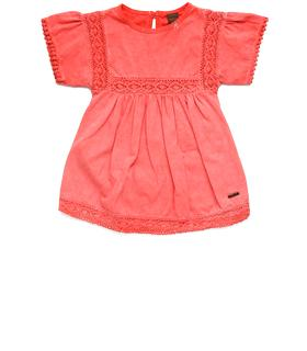Girls' cotton dress pg3137.050.20500