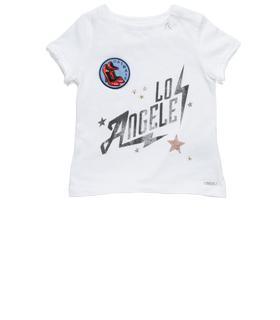Girls' LOS ANGELES print T-shirt pg7406.058.20994