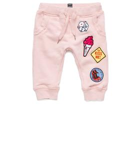 Girls' sweatpants with patches pg9265.050.20516