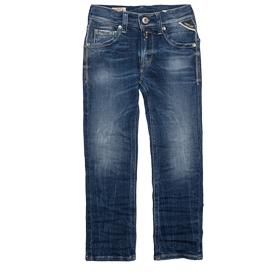 Slim-fit jeans with whiskers sb9011.099.33c 308