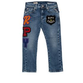 Regular-fit jeans with patches sb9328.058.33c706p