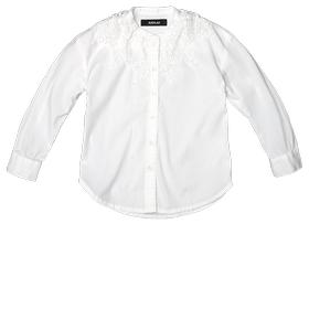 Poplin and lace shirt sg1044.050.80632