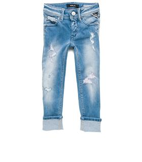 Girls' skinny-fit ripped jeans sg9253.051.45c 383