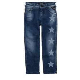 Star print carrot-fit jeans sg9279.050.21a147n