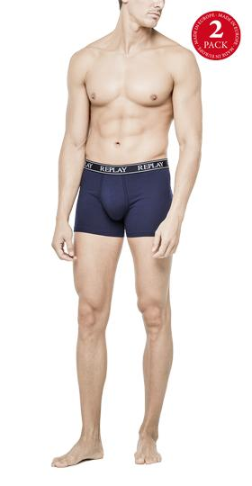 2-pack solid stretch boxer briefs. tm601 .000.n197