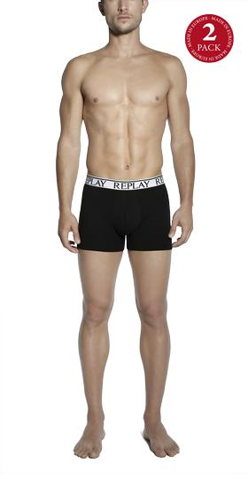 2-pack stretch cotton boxer shorts tm606 .000.n001