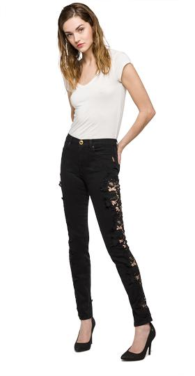 We are Replay Isah skinny fit jeans vd1259.000.v437g92