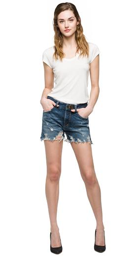 We are Replay denim shorts vd2341.000.v278g99