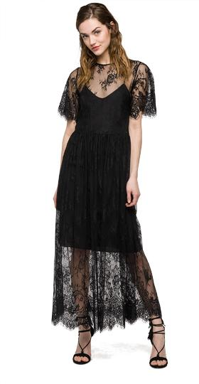 We are Replay lace dress vd8253.000.v82818