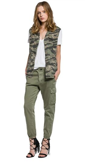 Camouflage vest with pockets w7362 .000.71208