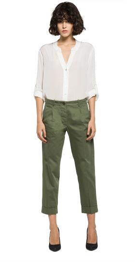 Ankle-length creased trousers w8802 .000.82724f