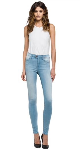 High waist skinny-fit Touch jeans                                                                                                                                     wa641 .000.47c t09