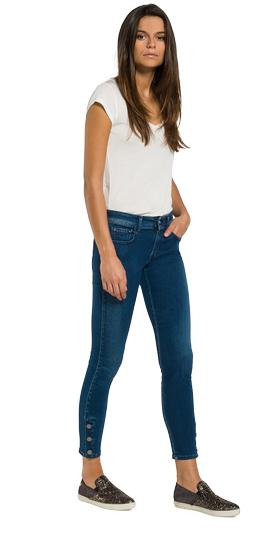 Luz cropped skinny-fit jeans wbx689.000.93a 921