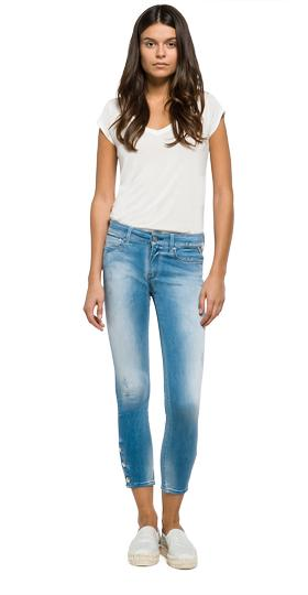 Luz cropped skinny-fit jeans wbx689.000.95a 755