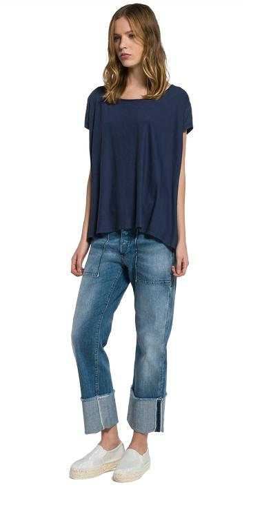 Comfort-fit jersey T-shirt - Replay W3834_000_22042P_177_1