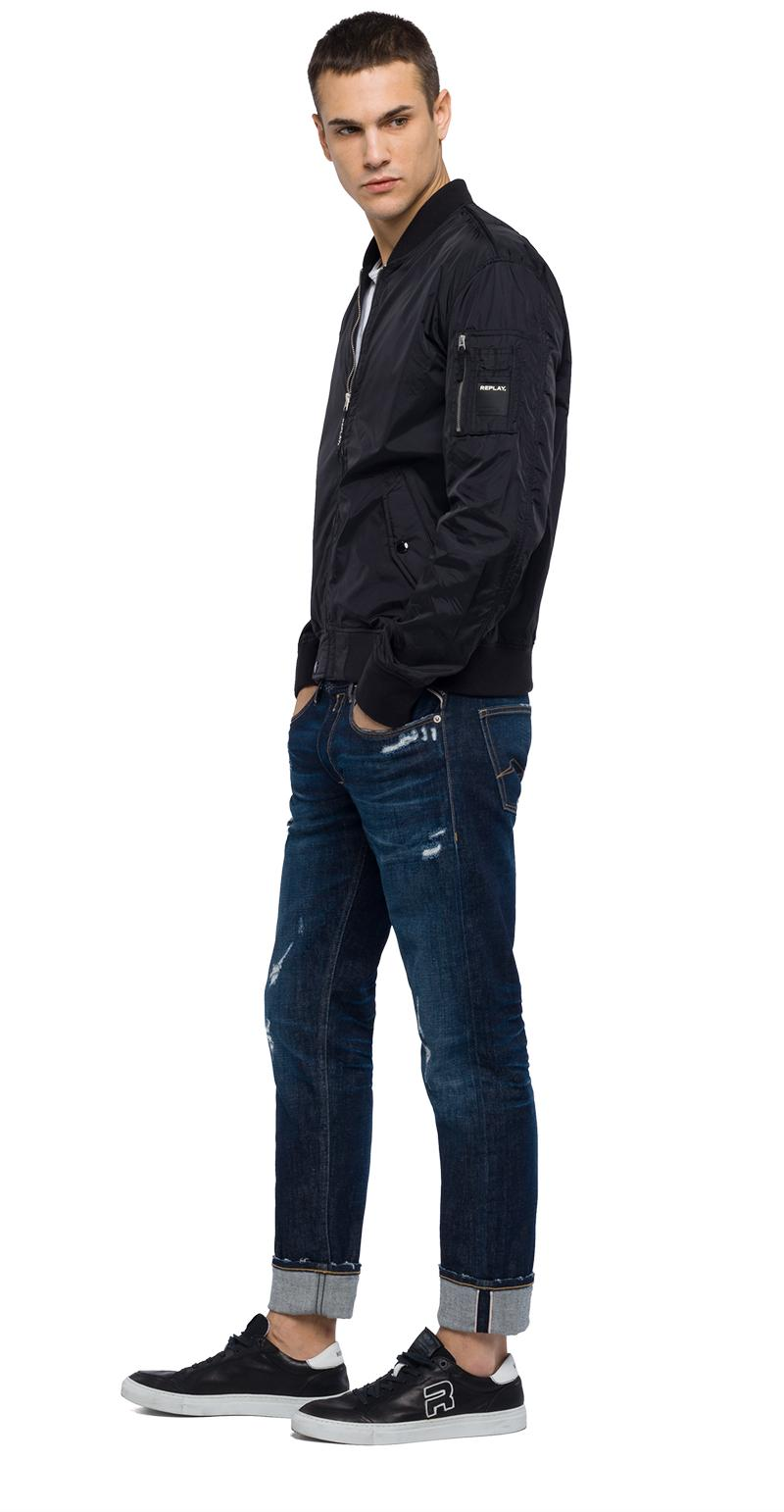Replay Jeans - Technical bomber jacket with zipper - 2