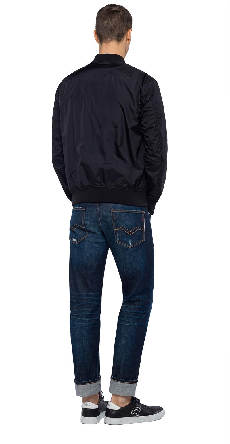 Replay Jeans - Technical bomber jacket with zipper - 3