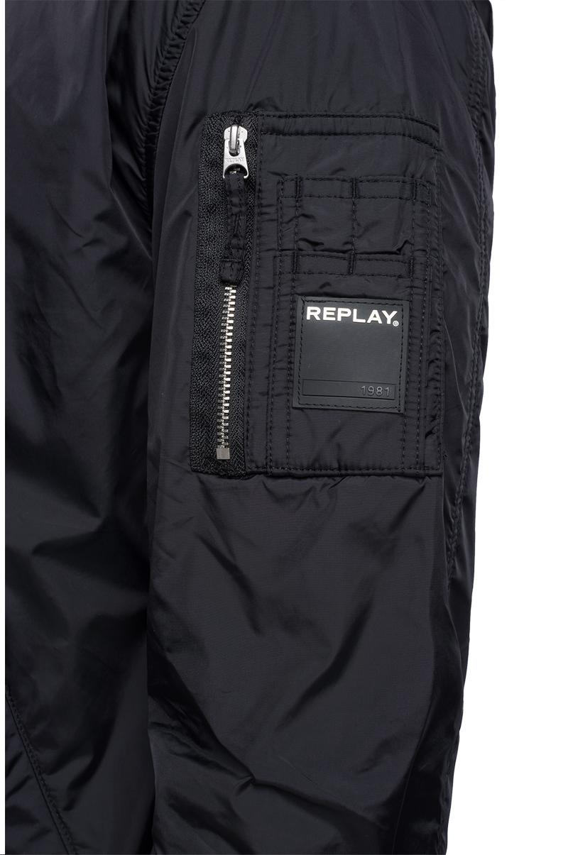 Replay Jeans - Technical bomber jacket with zipper - 6