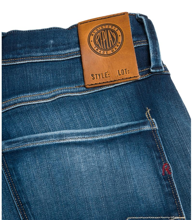 Replay Jeans - Vaqueros de corte slim Hyperflex Anbass Broken & Repair - 7