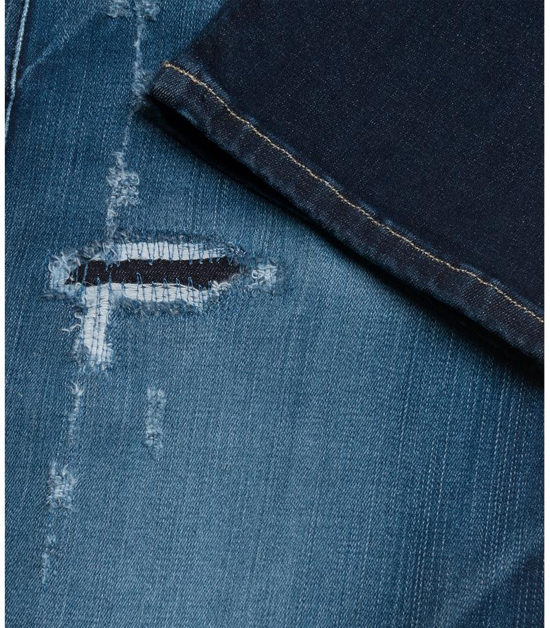 Replay Jeans - Vaqueros de corte slim Hyperflex Anbass Broken & Repair - 8