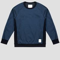 REPLAY SPORTLAB crewneck denim sweatshirt M3469 .000.S471