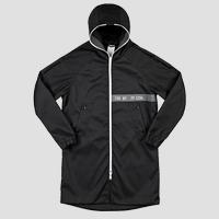 SPORTLAB trench coat with hood and zipper M8065B.000.S83940