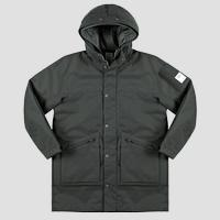 REPLAY SPORTLAB mid weight long jacket with hood M8207 .000.S84288