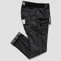Denim fleece pants with writing sportlab M9673 .000.S233409