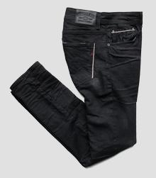 Jean coupe droite Grover Selvedge Stretch
