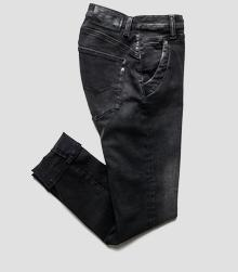 Denice drop-crotch slim-fit jeans