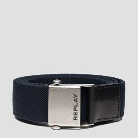 REPLAY belt with sliding buckle