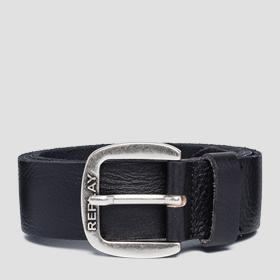 Smooth leather Replay belt