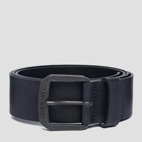 Used effect leather belt