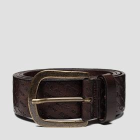 Belt with REPLAY print