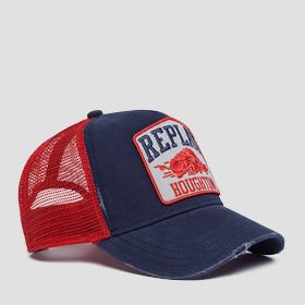 Baseball cap with vintage graphic