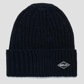 Ribbed REPLAY beanie