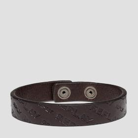 REPLAY leather bracelet