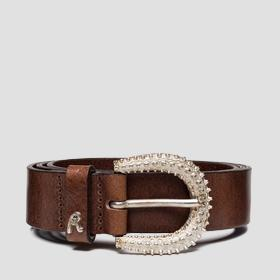 Leather belt REPLAY