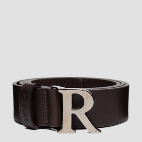 REPLAY smooth leather belt